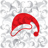 creative merry christmas cap background Royalty Free Stock Images