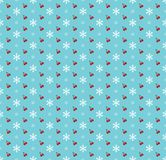 Creative merry christmas pattern Royalty Free Stock Images