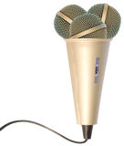 Creative microphone Stock Images