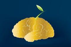 Creative Mind. With creative Ideas Royalty Free Stock Photo