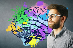 Creative mind concept Royalty Free Stock Photos