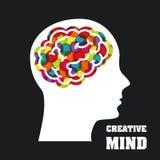 Creative mind royalty free illustration
