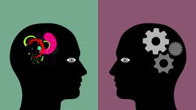 Creative Mind VS Logical Mind