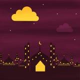 Creative Mosque for Ramadan Kareem celebration. Royalty Free Stock Image