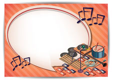 Creative music Template Flyer Brochure Vector Paper Design Template Stock Photos