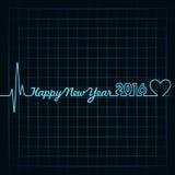 Creative New Year 2016 design Stock Photography