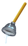 Plunger Vector Illustration Royalty Free Stock Images