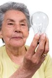 Creative old lady Stock Photos