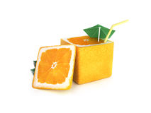 Creative orange Royalty Free Stock Photos