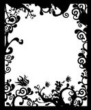 Creative ornamental frame. With copy space royalty free illustration