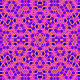 Creative Ornamental Pink Pattern stock illustration