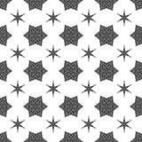 Creative Ornamental Seamless Black Pattern Royalty Free Stock Image