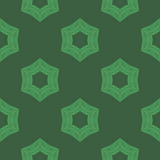 Creative Ornamental Seamless Green Pattern Royalty Free Stock Images