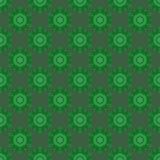 Creative Ornamental Seamless Green Pattern Royalty Free Stock Photo
