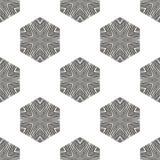 Creative Ornamental Seamless Grey Pattern Royalty Free Stock Photo