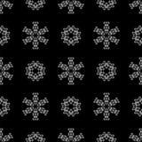 Creative Ornamental Seamless Grey Pattern Royalty Free Stock Photography