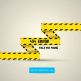 Creative page not found, 404 error. Design Royalty Free Stock Images