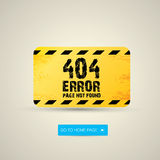 Creative page not found, 404 error. Design Stock Photo