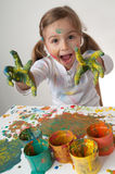 Creative painter Stock Photo