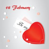 Creative paper heart Stock Images