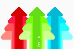 Creative paper tree Royalty Free Stock Images
