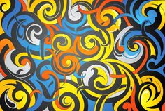 Creative pattern Stock Image