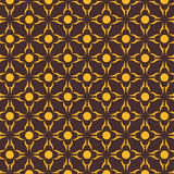 Creative pattern. Creative design of yellow pattern background Stock Photography