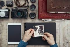 Creative photo album Royalty Free Stock Photography