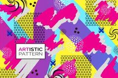 Pop art background. Creative pop art pattern. Artistic background vector illustration