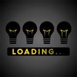 Creative preloader design Royalty Free Stock Image