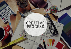 Creative Process Creativity Innovation Inspiration Concept Royalty Free Stock Image