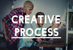 Creative Process Design Brainstorm Thinking Vision Ideas Concept Stock Photo