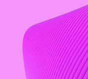 Creative Purple wave forms and technology communication Stock Photos