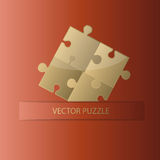 Creative puzzle background Royalty Free Stock Photography