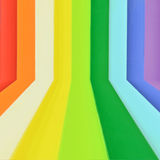 Creative Rainbow colorful wood Royalty Free Stock Photos