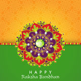 Creative rakhi for Raksha Bandhan celebration. Royalty Free Stock Photo