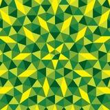 Creative random triangular design pattern Stock Image