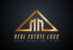 Creative Real Estate Logo design for brand identity, company profile. Or corporate logos with clean elegant and modern style Stock Photography