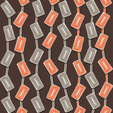 Creative rectangle swirl design pattern background Royalty Free Stock Photos