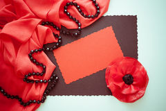 Creative red and grey background Royalty Free Stock Photography