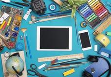 Creative responsive design header image Royalty Free Stock Photos