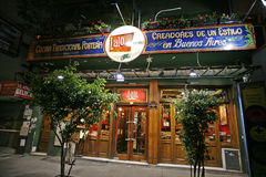 Creative Restaurants of Argentina Stock Photography
