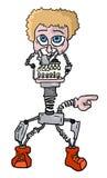 Creative robot human Stock Photo
