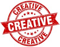 creative stamp Royalty Free Stock Images