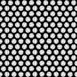 Creative round vector seamless pattern Royalty Free Stock Photos
