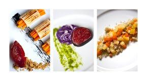 Creative salads Royalty Free Stock Photos