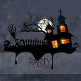 Creative scary halloween design Royalty Free Stock Photography