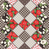 Creative seamless patchwork pattern Stock Photos