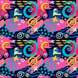 Creative Seamless pattern. Artistic universal background. Hand Drawn textures. Design for poster, card, invitation, header, cover placard brochure flyer fabric vector illustration
