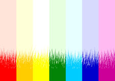 Creative seamless rainbow background Royalty Free Stock Images